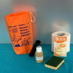 Kit d'accueil entretien ECO Vaisselle main