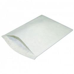 Gant de toilette Non tissé cousu par ultrason blanc par 50 pièces - H10019