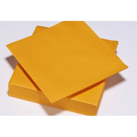 Serviette TENDANCE Mandarine ouate 38 x 38 cm 2 plis ( pqt x50 ) - NA8097