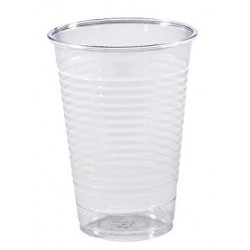 Gobelet plastique transparent 20 cl ( x 100 ) - REF: 7924