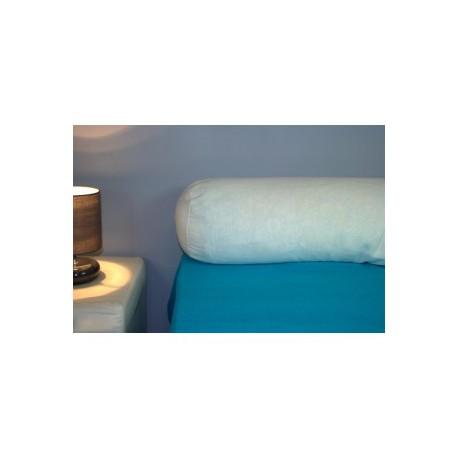 Protège traversin Confort 1 pers. 40 x 100 cm blanc - K10006