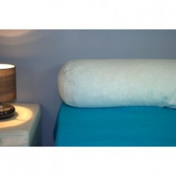 Protège traversin Confort 2 pers. 40 x 150 cm blanc - K10007
