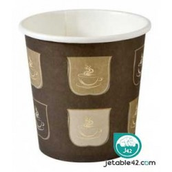 Gobelet carton 10 cl boisson chaude ( x 50 ) - PH550160