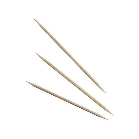 Boite de 100 cure dents en bois 8 cm - 7681