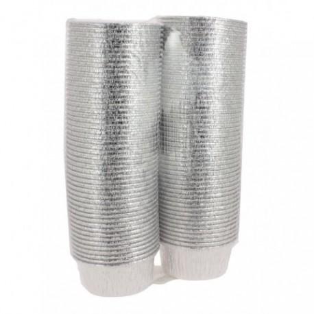 100 Godets en aluminium 150 cc - PH554112
