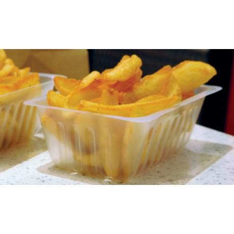 250 barquettes plastiques alimentaires 500 cc - PH572205
