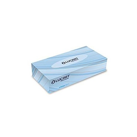 Boite de 100 mouchoirs blancs LUCART pro. - 7035
