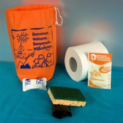 Kit d'accueil entretien ECO Lave Vaisselle 50 pcs