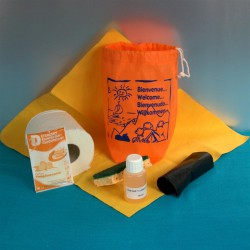 Kit d'accueil entretien CONFORT Vaisselle main 50 pcs