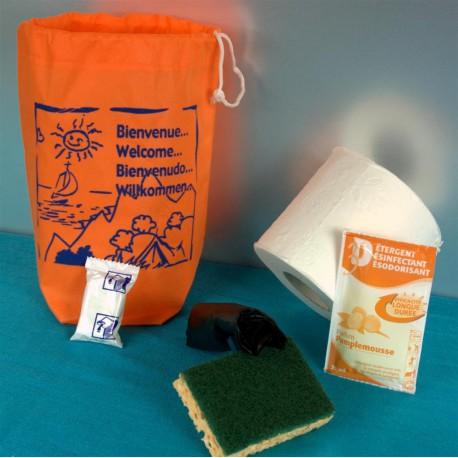 Kit d'accueil entretien CONFORT Vaisselle main