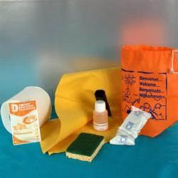 Kit d'accueil entretien LUXE Vaisselle Main 50 pcs