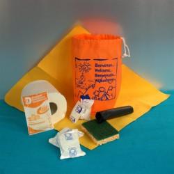 Kit d'accueil entretien LUXE Lave Vaisselle 50 pcs
